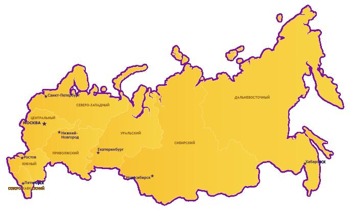Карта НПЗ. г.